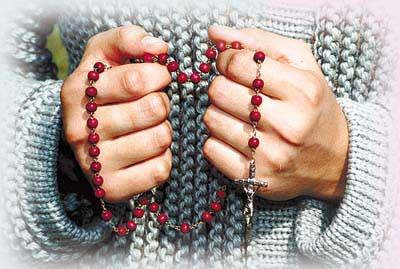 Październik – moja modlitwa różańcowa
